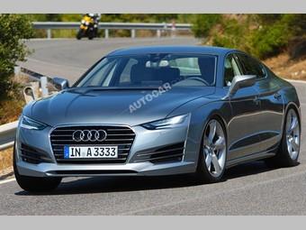 """Audi представит новый """"купеобразный"""" седан в 2012 году"""