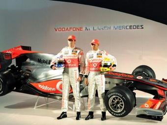 Команда McLaren проведет презентацию нового болида в феврале
