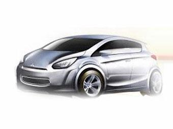 Новая компактная модель Mitsubishi появится в 2012 году