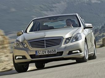 Гибридный Mercedes-Benz E-Class получит дизельный мотор