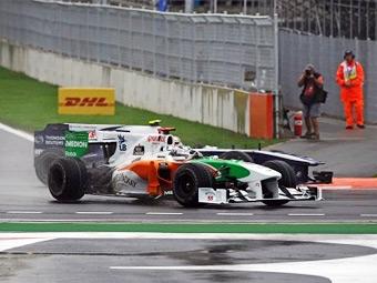 Сутил и Буэми оштрафованы за аварии на Гран-при Кореи