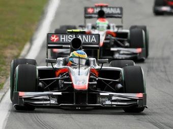 Команду Формулы-1 HRT выставили на продажу
