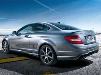 Обнародованы фотографии нового купе Mercedes-Benz C-Class