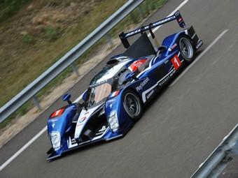 Команда Peugeot испытала новый прототип для Ле-Мана