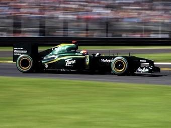 Команда Формулы-1 Team Lotus в 2011 году сохранит зелено-желтую расцветку