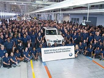 Марка BMW приступила к производству кроссовера X3 нового поколения