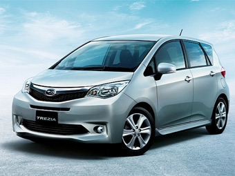 В модельном ряду Subaru появился компактвэн