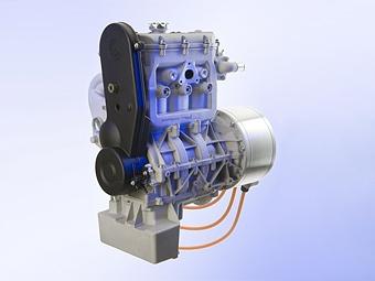 Lotus будет выпускать бензиновые моторы для гибридов