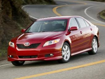 Toyota Camry признали самой американской машиной