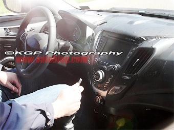 Фотошпионы засняли интерьер нового купе Hyundai