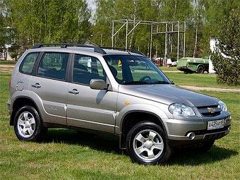 На внедорожники Chevrolet Niva увеличили гарантию