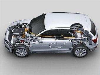 Стали известны характеристики первого серийного гибрида Audi
