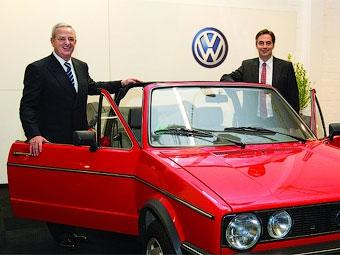 Volkswagen подтвердил запуск в серию кабриолета Golf