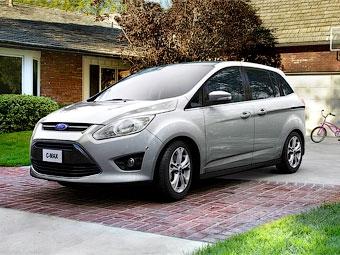 В США компактвэн Ford С-Max можно будет открывать ногой