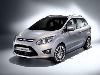 Компания Ford объявила цены на Grand C-Max в России