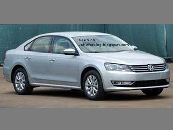 Шпионы сфотографировали новый седан Volkswagen для Америки