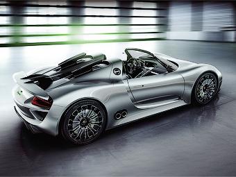 Названа дата начала продаж гибридного суперкара Porsche