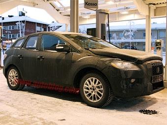 Начались испытания маленького кроссовера Mazda