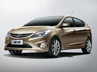 В Китае показали прообраз будущего хэтчбека Hyundai Solaris