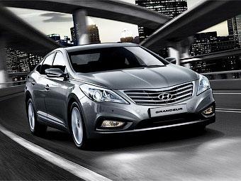 В Южной Корее дебютировал седан Hyundai Grandeur нового поколения
