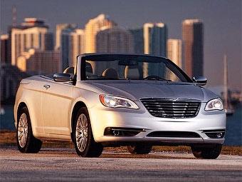 Появились официальные фотографии открытого Chrysler 200