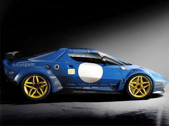 Ателье Pininfarina показало гоночную версию возрожденной Lancia Stratos