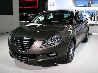 Хэтчбек Lancia Delta переделали в Chrysler