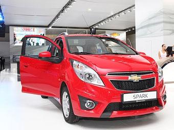 Названы российские цены на новый Chevrolet Spark