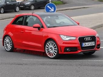 """Audi готовит к премьере """"заряженную"""" версию A1"""