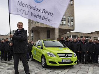 Mercedes-Benz отправил водородные автомобили вокруг света
