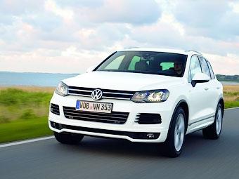 VW сделал внешность внедорожника Touareg спортивнее