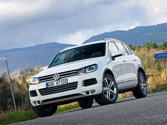 В России начались продажи нового VW Touareg