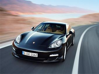 Дизельную и гибридную версию Porsche Panamera покажут в марте