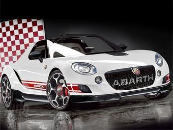 Родстер Abarth получит шасси от экстремального KTM X-Bow