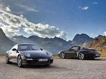 Porsche выпустит черные спорткары 911 ограниченным тиражом