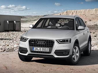 Объявлены российские цены на кроссовер Audi Q3