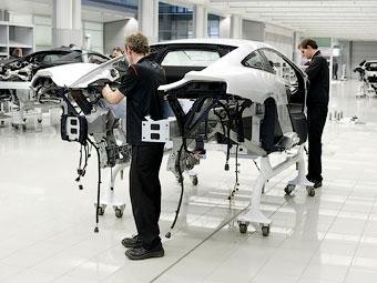 В Великобритании началось производство нового суперкара McLaren
