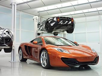 Суперкар McLaren будет стоить дешевле Ferrari 458 Italia