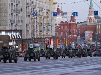 5 мая московские улицы перекроют из-за репетиции парада