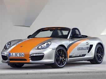 Компания Porsche сделала из модели Boxster электрокар