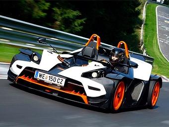 Экстремальный спорткар KTM X-Bow получит 300-сильный двигатель