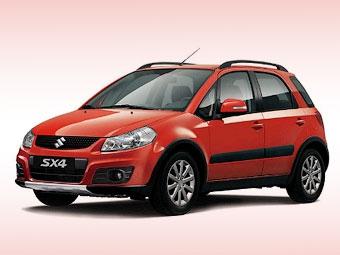 Suzuki SX4 получит в России навигационную систему