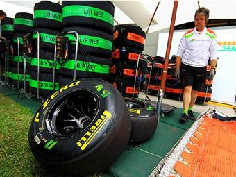 На Гран-при Испании жесткие шины Pirelli станут более износоустойчивыми