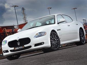 Гоночное отделение Maserati подготовило спорт-пакет для седана Quattroporte