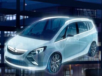 """Компания Opel показала предвестника новой """"Зафиры"""""""