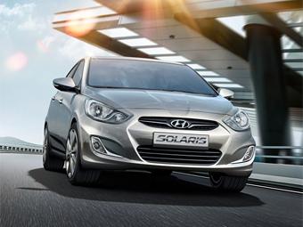 Самой продаваемой иномаркой в России стал бюджетный седан Hyundai