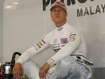 Шумахер перестал получать удовольствие от гонок