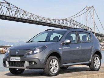 Компания Renault рассекретила обновленный хэтчбек Sandero