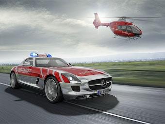 Mercedes-Benz построит скорую помощь на базе суперкара SLS AMG