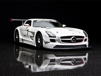 Компания Mercedes-Benz подготовила суперкар SLS AMG для гонок